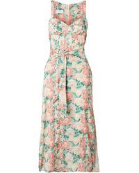 Art Dealer Midi Dress - Multicolour