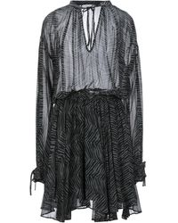 Anine Bing Midi Dress - Grey