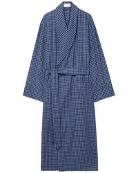 Emma Willis Dressing Gown - Blue
