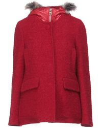 BRERAS Milano Coat - Red