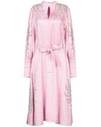 Dodo Bar Or Midi Dress - Pink