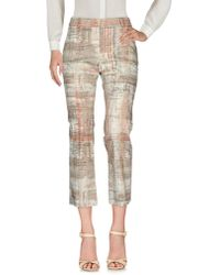 Peserico Casual Trousers - Natural