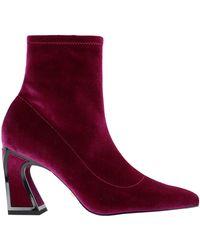 Kat Maconie Ankle Boots - Purple