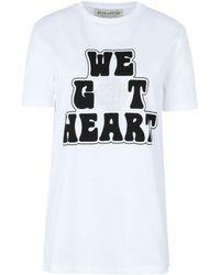 Être Cécile Slogan T-shirt - White