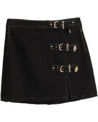 Versace Jeans Couture Denim Skirt - Black