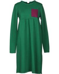 AVN Short Dress - Green
