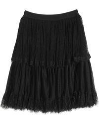 Marco Bologna Midi Skirt - Black