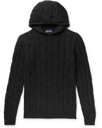 Ralph Lauren Purple Label Sweater - Black