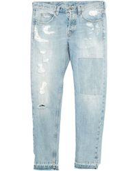 Eleventy Denim Trousers - Blue
