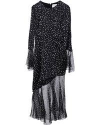 Prabal Gurung 3/4 Length Dress - Black