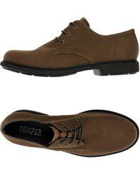 Camper Zapatos de cordones - Marrón