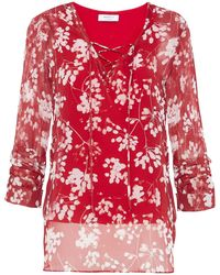 Bailey 44 Blouse - Red
