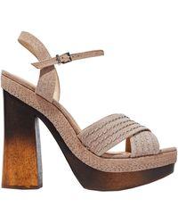 Schutz Sandals - Grey