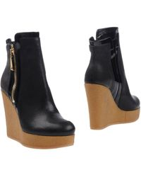 Hogan Ankle Boots - Black