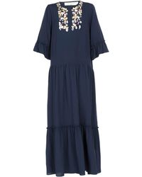 Beatrice B. Long Dress - Blue