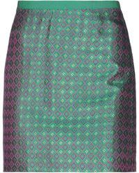 History Repeats Mini Skirt - Green