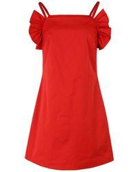 STAUD Short Dress - Red