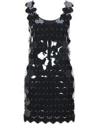 Paco Rabanne Short Dress - Black