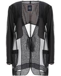 Limi Feu Overcoat - Black