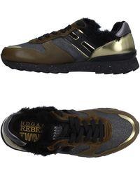 Hogan Rebel Low-tops & Sneakers - Green