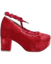 Simone Rocha Court Shoes - Red