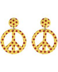 Moschino Earrings - Yellow