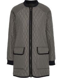Belstaff Synthetic Down Jacket - Gray