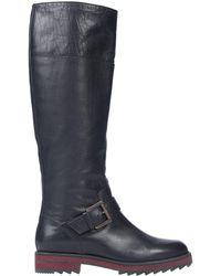 Jil Sander Navy Boots - Black