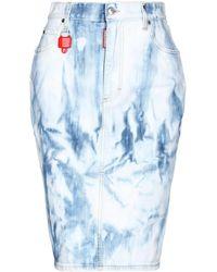 DSquared² Denim Skirt - Blue