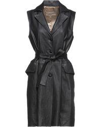Gentry Portofino Overcoat - Black