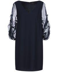 Hanita Short Dress - Blue
