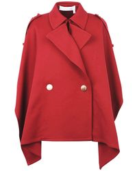 See By Chloé Capes & Ponchos - Red