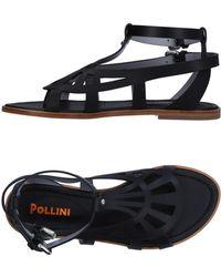 Pollini - Toe Strap Sandals - Lyst
