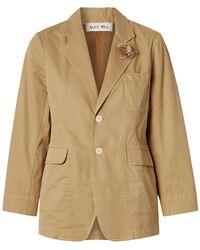 Alex Mill Suit Jacket - Natural