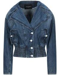 Frankie Morello Denim Outerwear - Blue