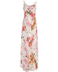 Pinko Vestido largo - Rosa