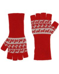 Burberry Gloves - Red