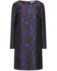 Tonello Short Dress - Blue