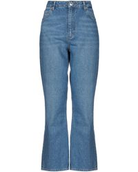 Sandro Denim Trousers - Blue