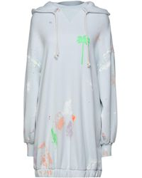 Palm Angels Short Dress - Blue