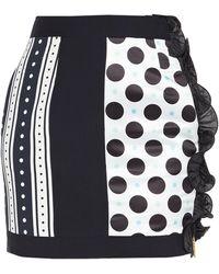 Emanuel Ungaro Mini Skirt - Black