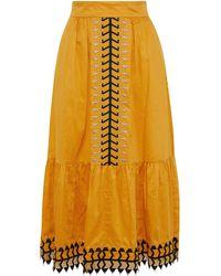 Temperley London Midi Skirt - Multicolour