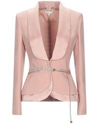 W Les Femmes By Babylon Suit Jacket - Pink