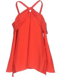 Proenza Schouler - Satin Off The Shoulder Top - Lyst
