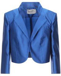 Antonio D'errico Suit Jacket - Blue