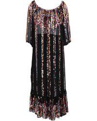 Carolina K Midi Dress - Black