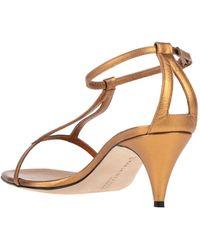 Marskinryyppy Sandals - Metallic