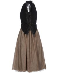 Brunello Cucinelli Knee-length Dress - Multicolour