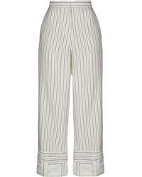 JW Anderson Pantalon - Blanc
