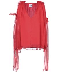 Si-jay Blouse - Red